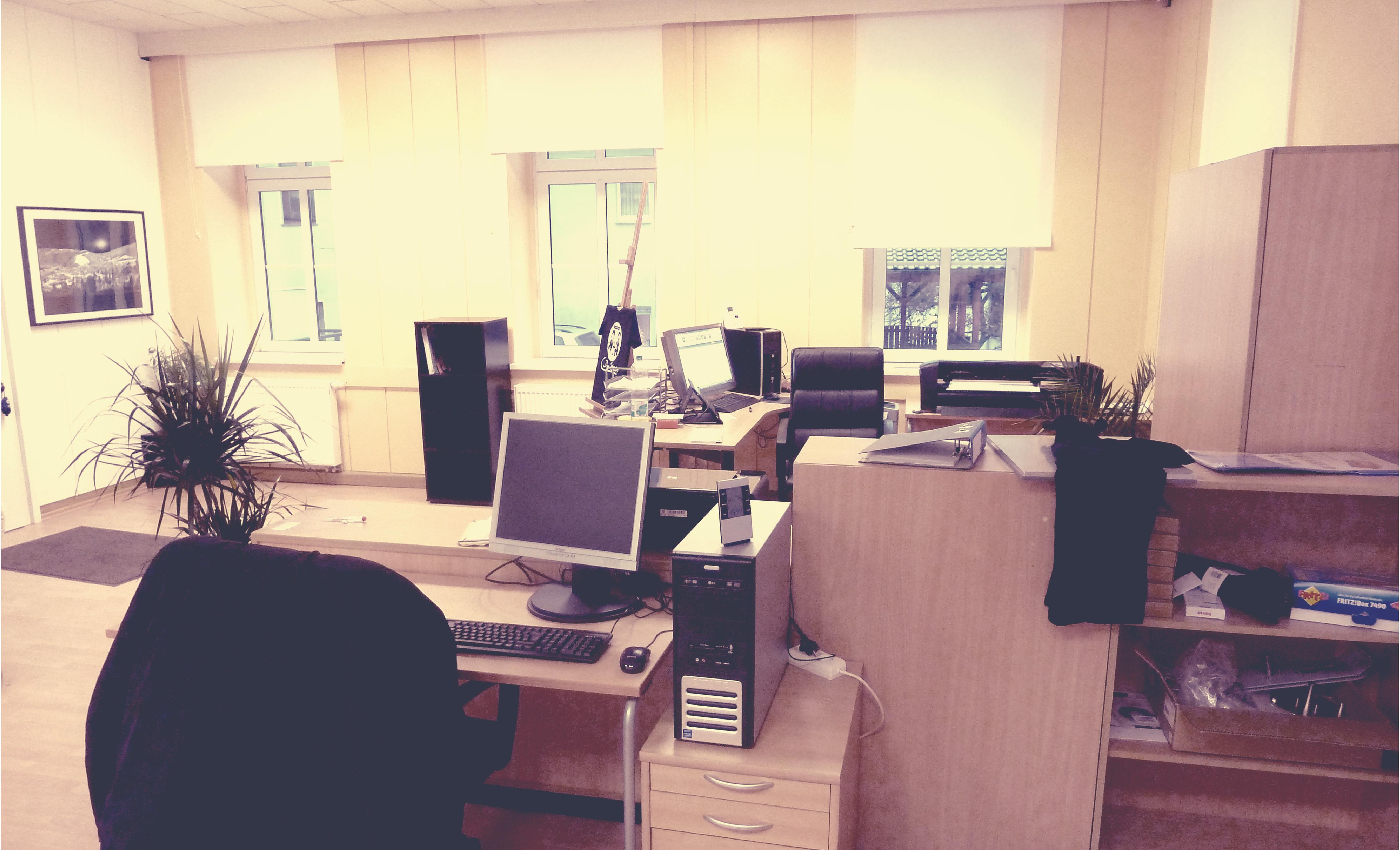 Unser Büro in der Könitzer Straße 41 07338 Kausldorf im Thüringer Land. 5 Km Entfernung von Saalfeld_ 15 Km Entfernung Rudolstadt