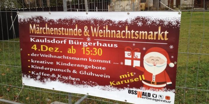 Kaulsdorfer Märchenstunde & Weihnachtsmarkt