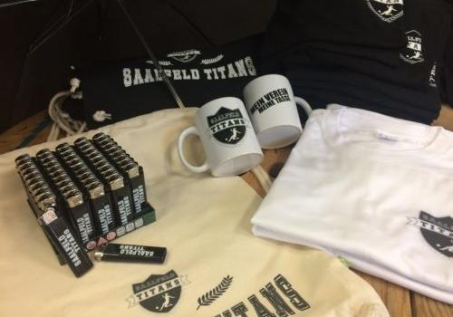 Neue Fanartikel Merchandise Saalfeld Titans