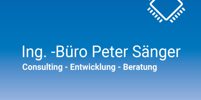 Firmenhomepage Dr.-Ing. Peter Sänger Ingenieurbüro