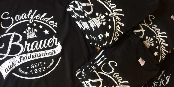 Saalfelder Brauer Jubiläums-T-Shirt
