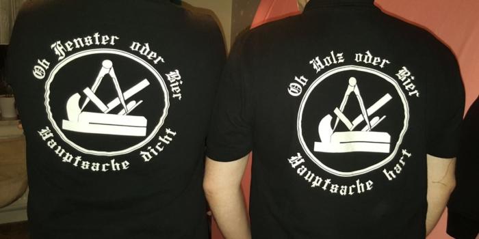 die perfekten T-Shirts für den Handwerker ;)