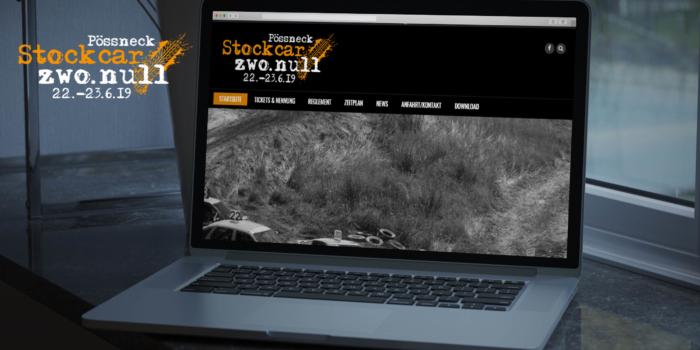 Website & Werbung für Stockcar zwo.null