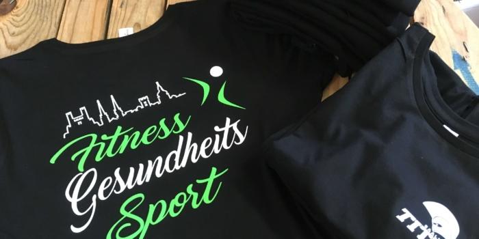 Sportshirts Gesundheit Fitness Damen Titans