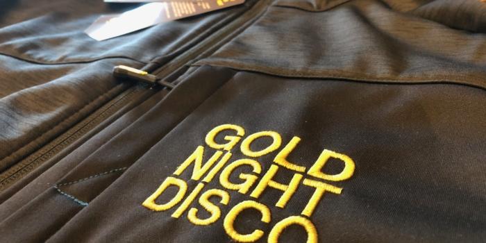Ein Goldstick für die Gold night Disco Dj Gerhardt